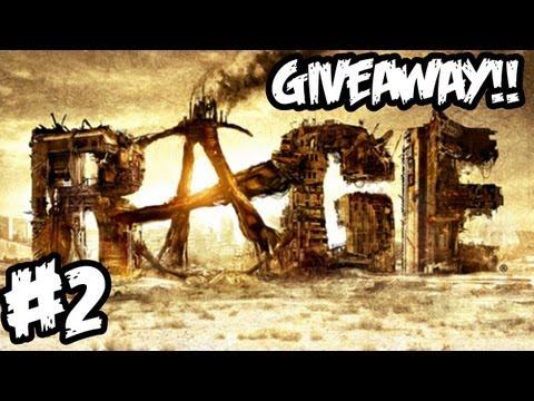 RAGE Walkthrough Part 2 HD - GIVEAWAY!! - Clown Halloween! (Xbox 360/PS3/PC Gameplay)