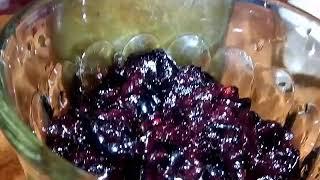 Вино с вареньем и черноплодной рябиной