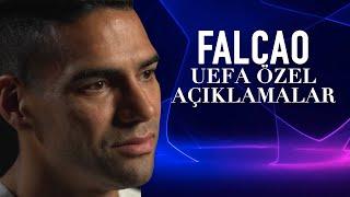🎙 Radamel Falcao UEFA'ya özel açıklamalarda bulundu. #UCL