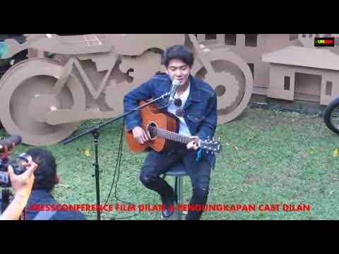 LIVE IQBAL CJR PERFORMANCE RINDU SENDIRI DI ACARA DILAN CAST ANNOUNCER AT FALCON