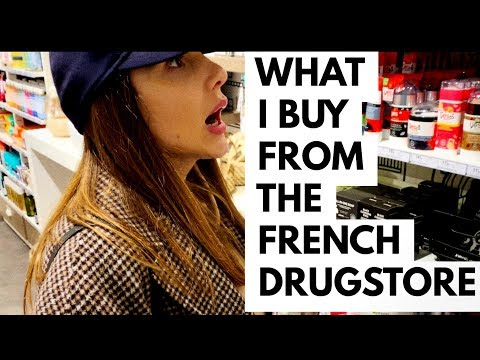 PRODUCTS I LIKE TO BUY FROM THE FRENCH DRUGSTORE | ALI ANDREEA