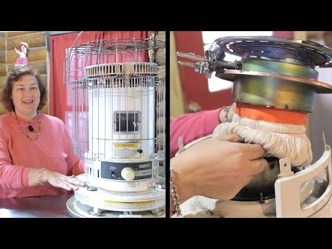 How to Change a Wick in a Kerosene Heater