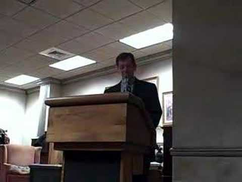 South Carolina Academy of Authors James Rigney Video One