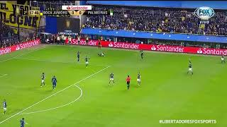 VILLA LEVANTOU grama e o Gustavo Gómez nessa dividida! O jogo tá ficando nervoso, meus amigos!#Libe