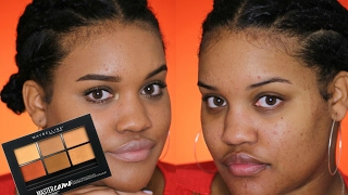 "Maybelline Master Camo Color Correcting Palette ""Deep"" Review"