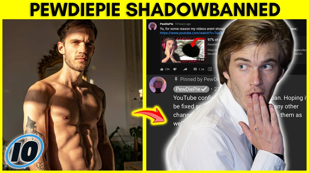 PewDiePie SHADOWBANNED Because of This