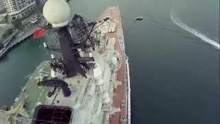 видео Квадрокоптер DJI Phantom FC40