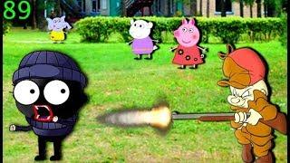 Мультики Свинка Пеппа на русском peppa 89 ВОР В ЛАГЕРЕ Мультфильмы для детей свинка пеппа новые