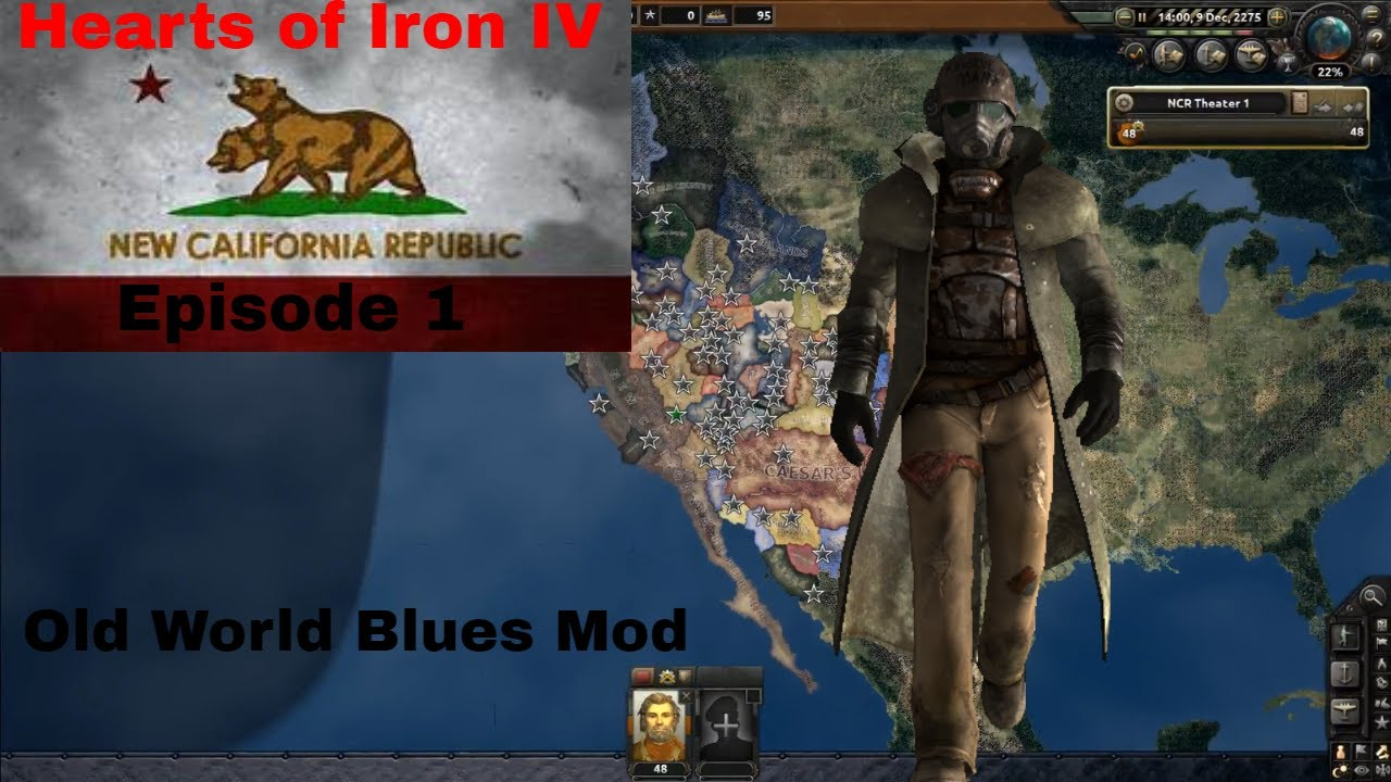 High Quality Hearts Of Iron IV   Old World Blues   NCR Episode 1