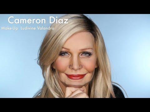 Cameron Diaz Drag Makeup Transformation Ludivine Valandro