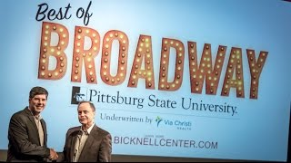Broadway coming to Pittsburg State University