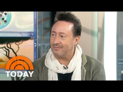 Julian Lennon On His New Children's Book And Dad John Lennon's Legacy | TODAY