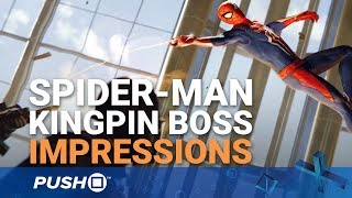 Marvel's Spider-Man PS4: Kingpin Boss Fight Gameplay Explained | PlayStation 4 | PS4 Pro Gameplay