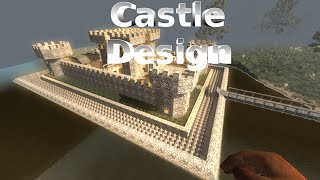 7 Days to Die Alpha 14 Castle Base Design