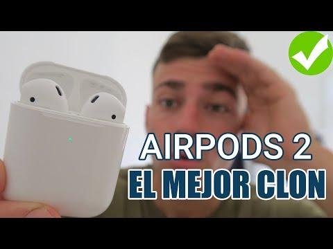 La MEJOR Copia De AIRPODS 2 Que NO TE VAS A CREER! +SORTEO