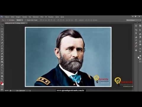 Speed Art Como Colorir Uma Foto Preto E Branco Photoshop Cs6