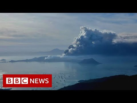 Taal volcano: Lava