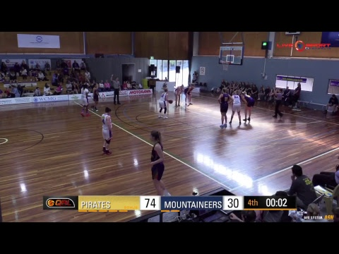 Toowoomba Mountaineers at South West Metro Pirates Women's QBL 2017
