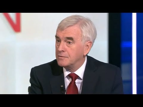 Shadow Chancellor John McDonnell on Labour's figures & publi