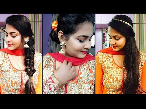 3 easy and quick wedding hairstyles