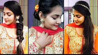 3 easy and quick Indian wedding hairstyles | Valine Punamia