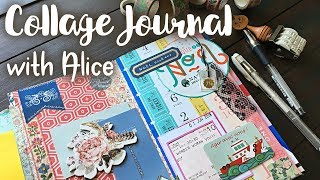 Junk Journal with me | How to use a Junk Journal | Journaling Process