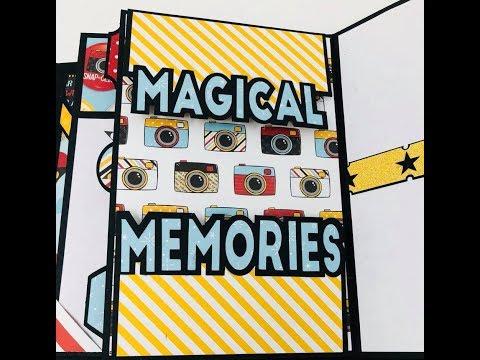 DIY Scrapbook Magical Memories