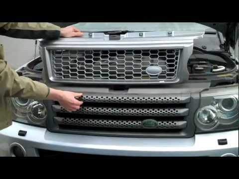 How To Upgrade Range Rover Sport 2005-09 To HST Grille