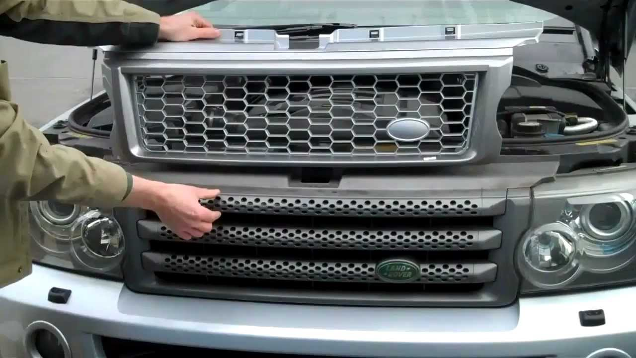 How To Upgrade Range Rover Sport 2005 09 To Hst Grille