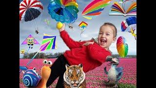 Uçurtma Ve Çocuk Şenliği | Deniz | Kum | Sahil | Yaza merhaba dedi DURU - Eğlenceli Çocuk Videosu