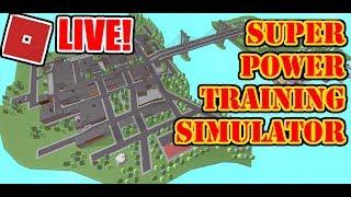 PHANTOM FORCES/SUPER POWER TRAINING SIM! ROBLOX LIVE STREAM!