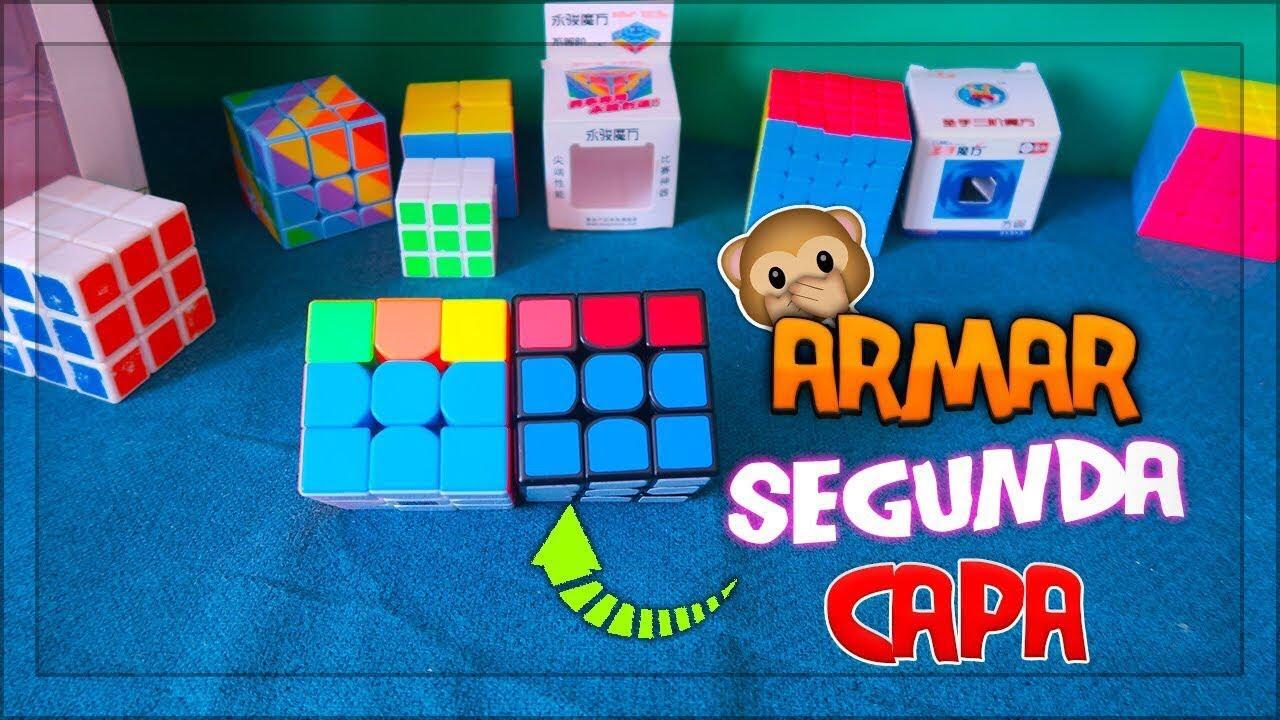 Como Armar La Segunda Capa Cubo Rubik 3x3 Método Principiantes 2 Youtube