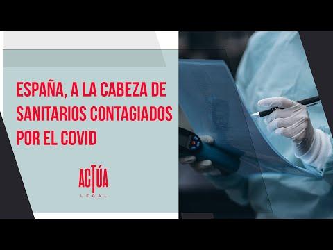 España, a la cabeza de sanitarios contagiados por el COVID
