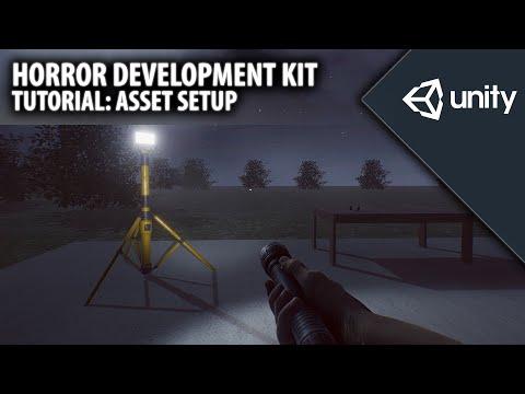 Horror Development Kit - v1.4b Tutorial - How to setup the asset