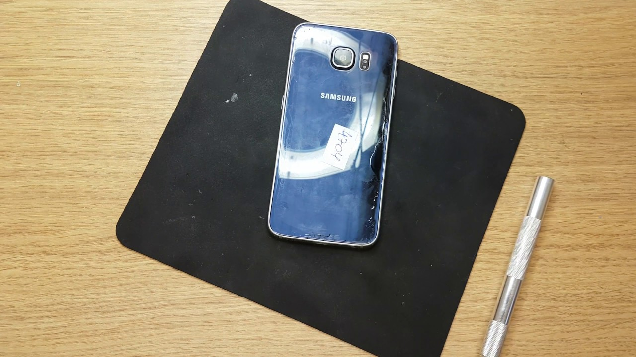 Samsung SM-G920f how to open for battery unplug after water damage to disarm