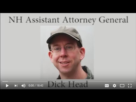 Assistant Attorney General Dick Head