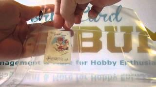 Tobacco Card Inserts from BCW - Product Review