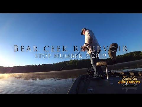 Bear Creek Reservoir - Tournament Bass Fishing
