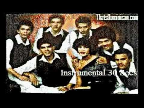 Los Hermanos Rosario   La Morena Karaoke