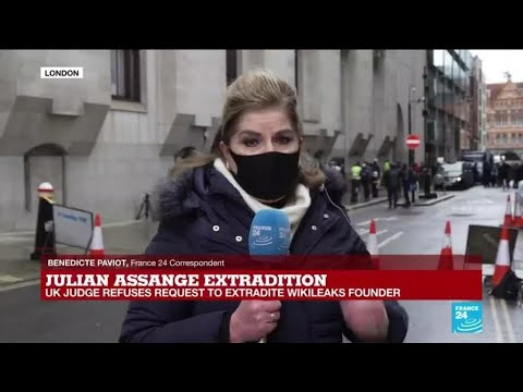 British Court Rejects U.S. Request To Extradite WikiLeaks Founder ...