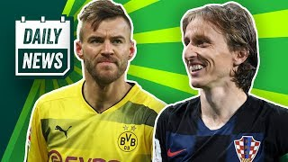 WM 2018: Halbfinale Kroatien vs. England! BVB: Yarmolenko zu West Ham? Hummels Botschaft! Daily News