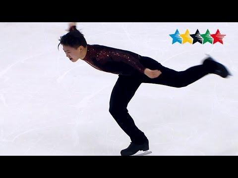 Figure Skating Men Free - 28th Winter Universiade 2017, Almaty, Kazakhstan