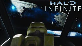 How was Zeta Halo destroyed in Halo Infinite?