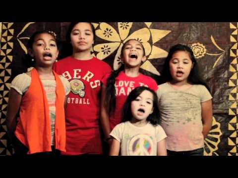 National Anthem - Tonga Girls