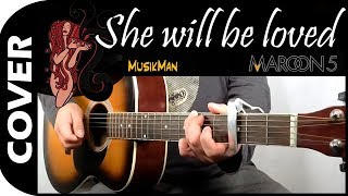 She Will Be Loved 🙍 - Maroon 5 / MusikMan #137