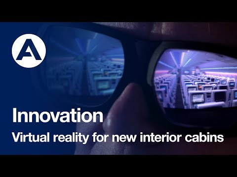Airbus Innovation Centre develops 3D technology to provide virtual reality new interior cabins