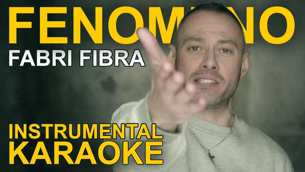 Fabri Fibra: FENOMENO (Karaoke - Instrumental) - YouTube