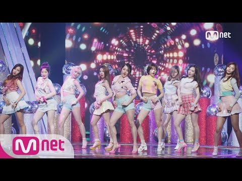 TWICE - Saturday Night (Son Dam bi) + U-Go-Girl (Lee Hyori) Special Stage M COUNTDOWN 160317 EP.465