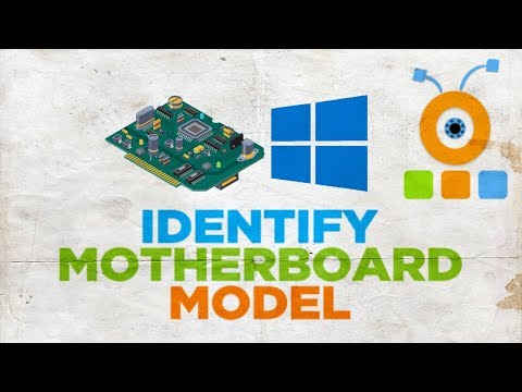 How To Identify Your Motherboard Model In Windows 10