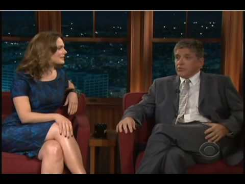 Emily Deschanel on Craig Ferguson